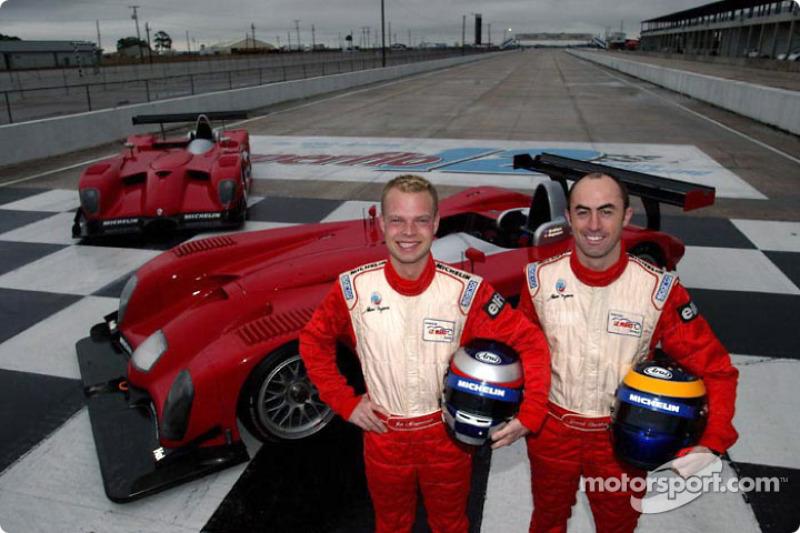 Jan Magnussen and David Brabham