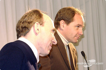 Frank Williams and Gerhard Berger