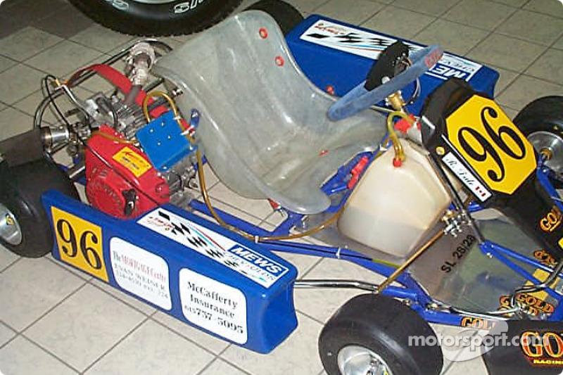Presentation of the 2002 National Capital Kart Club, driver Rob Dale