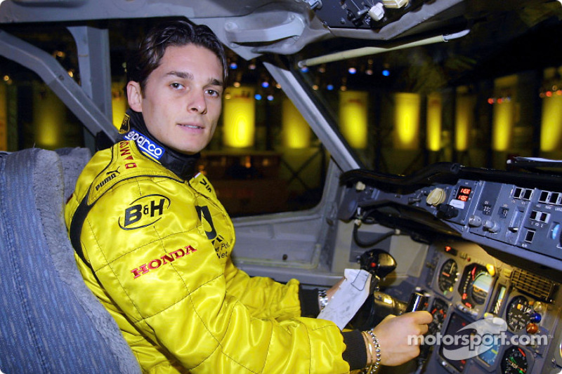 Your pilot for this flight: Giancarlo Fisichella
