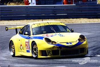 The PK Porsche of Youles Liddell and Masarati fought hard for GT class honours coming second