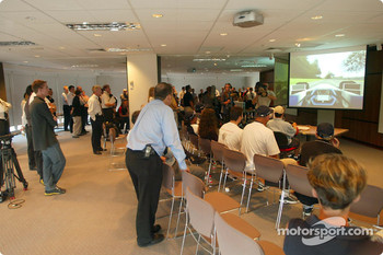 Compaq driver day: racing simulator