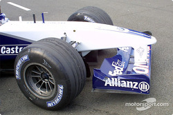 Front nose of the WilliamsF1 BMW FW24