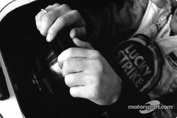 Jacques Villeneuve's hands