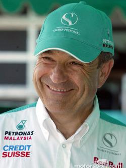 Petronas day in Kuantan, Malaysia: Peter Sauber
