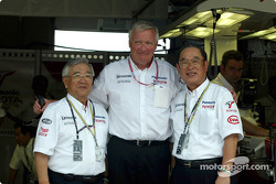 Mr Toyoda, Ove Andersson and Mr Cho