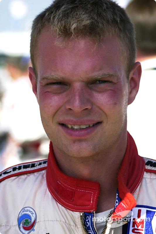 Jan Magnussen before the race