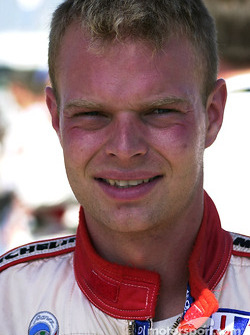Jan Magnussen before the race