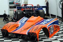 Robinson Racing paddock area