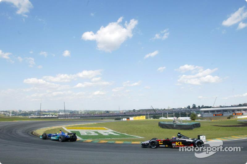 Felipe Massa and Mark Webber