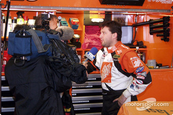 Tony Stewart does his umpteenth interview