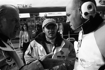 David Richards, Jacques Villeneuve and Jock Clear