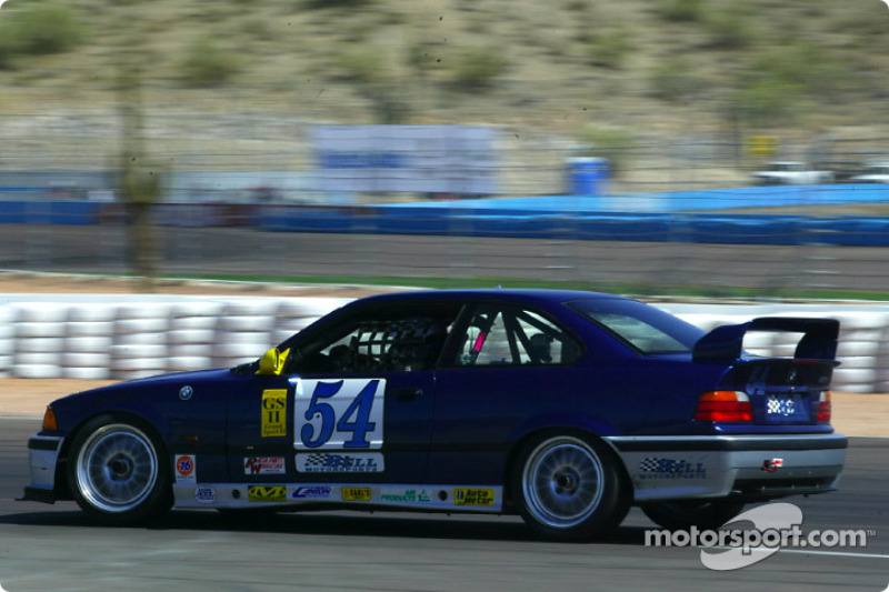 The #54 BMW M3 of Bell Motorsports was the quickest in the GS II class during Friday's practice session
