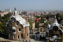 Gruell Park in Barcelona