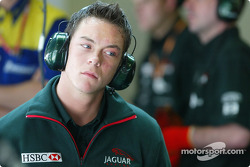 Jaguar test driver Andre Lotterer