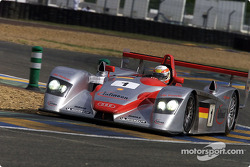 Tom Kristensen in the Infineon Audi R8 #1
