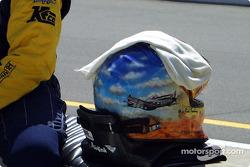 Rick Treadway's helmet