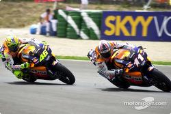 Ukawa leads Rossi