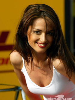 Austrian Grand Prix girl
