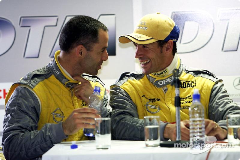 Alain Menu and Manuel Reuter