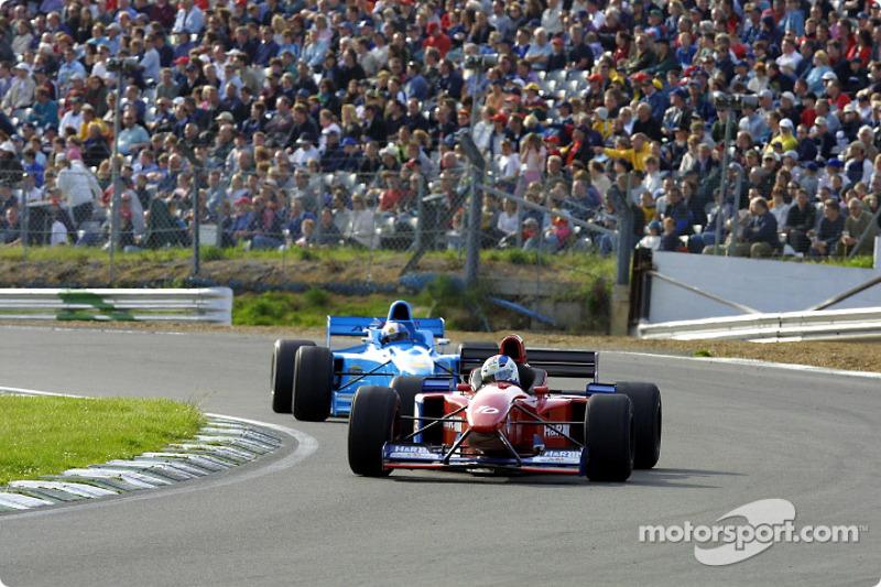 The battle for third place between Toivonen and Becker