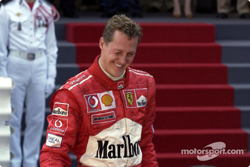Second place Michael Schumacher