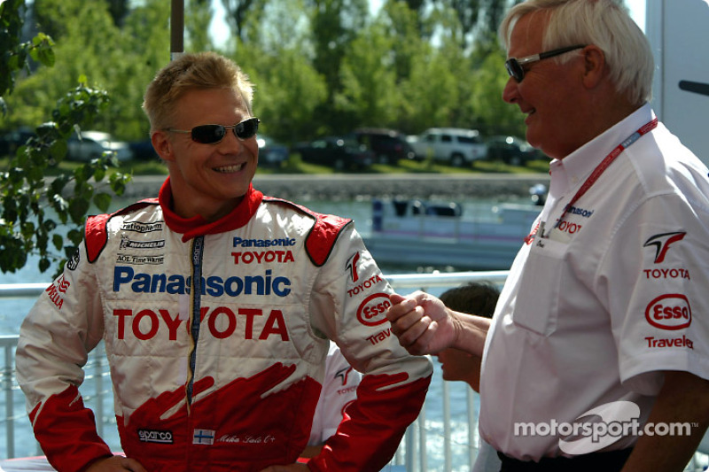 Mika Salo and Ove Andersson