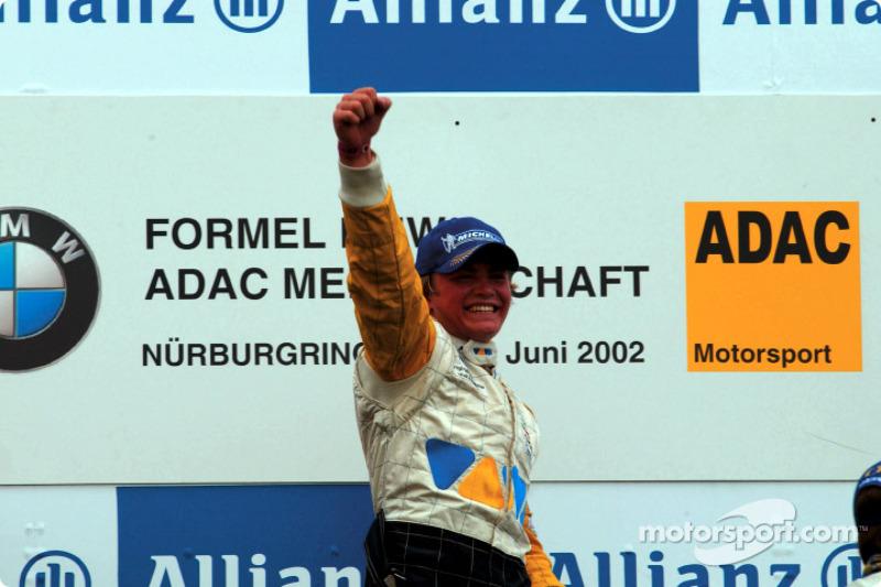 2002年:宝马ADAC方程式冠军