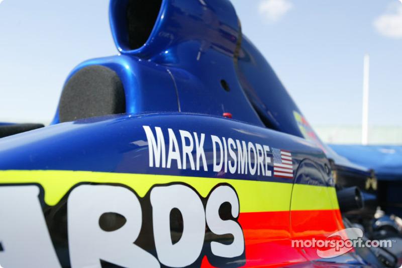 Mark Dismore's car
