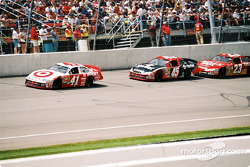 Jimmy Spencer and Kyle Petty