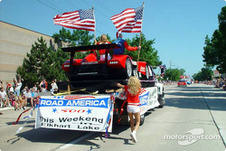 Independence Day in Parade in Sherboygan