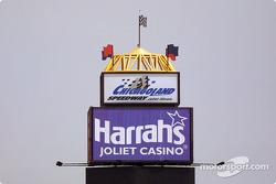 Chicagoland Speedway tower