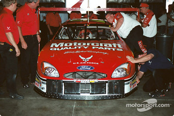 Team Motorcraft at final inspection