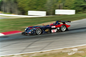 Panoz at speed