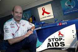 Sauber Petronas and United Nations join forces against HIV/AIDS: Peter Sauber