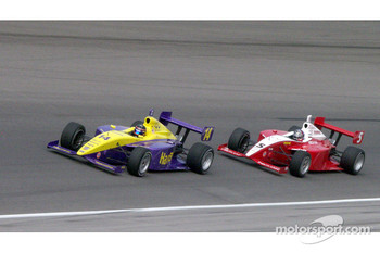 Anthony Foyt IV. and Arie Luyendyk Jr.