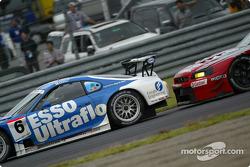 #6 Toyota Supra, Jyuichi Wakisaka, Akira Iida, #23 Nissan Skyline GT-R, Masami Kageyama, Erik Comas