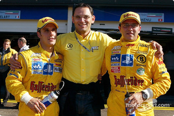 Hans-Jrgen Abt with Christian Abt and Laurent Aiello