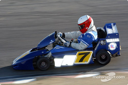 World Super Karts race: Eddie Lawson
