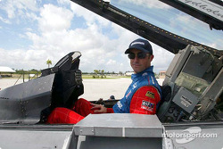 Panoz visits US Air Force Makos F-16 93rd Fighter Squadron: David Brabham
