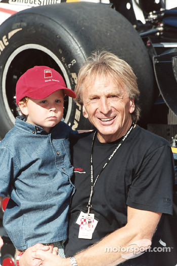 Derek Bell and little one