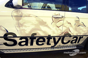 Paint job on Safety Car