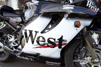 West Honda Pons bike