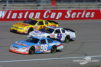 Kasey Kahne, Richard Mitchell and Hermie Sadler