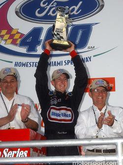Race winner Kurt Busch