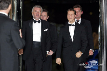 Willy Weber and Michael Schumacher
