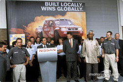 Nissan Rally Raid Team launch: Nissan Rally Raid Team