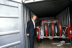 Nissan Rally Raid Team tests in South Africa: Ari Vatanen