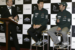 Interview for Mark Webber and Antonio Pizzonia