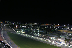 Daytona International Speedway by night